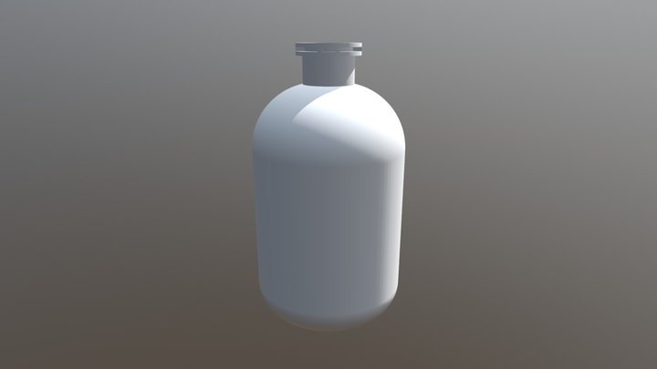 Inyectable 100ml 3D Model