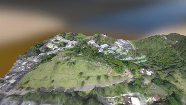 Morro del Tulcan, Popayán. 3D Model