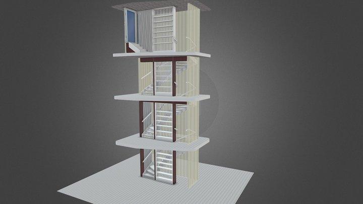 T2-S hus1 3D Model