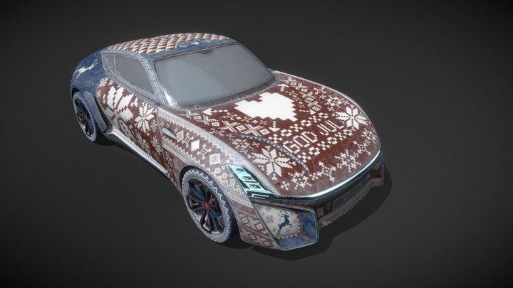 God Jul - Art Car Submission 3D Model