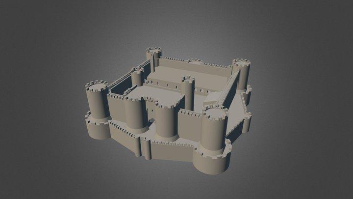 Barmouth Castle 3D Model