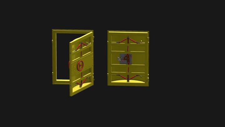 ДЗГ 120-180 MB Test 3D Model