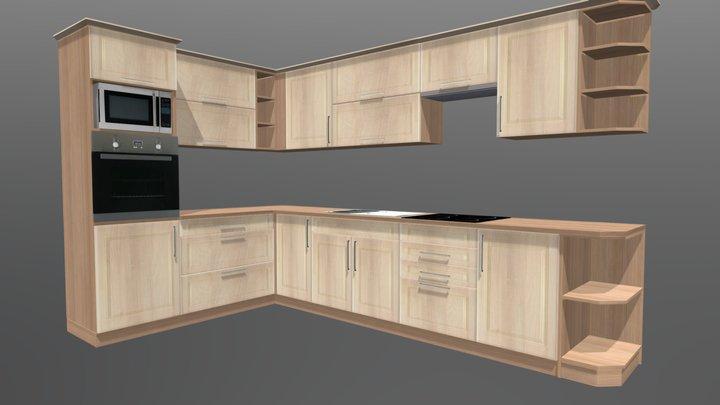 Kitchen cabinet 1 3D Model