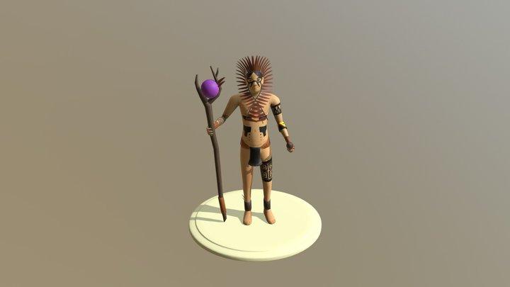 Tamandare Modelagem 3D Model