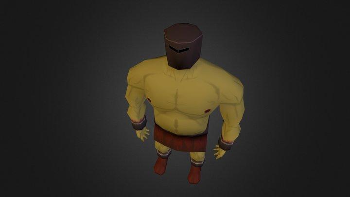 Lowpoly Giant 3D Model