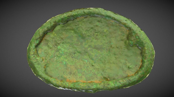 """Harkko"" (copper ingot) 3D Model"