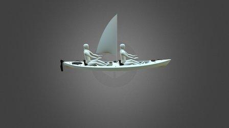 Kayak Bulot -03 3D Model