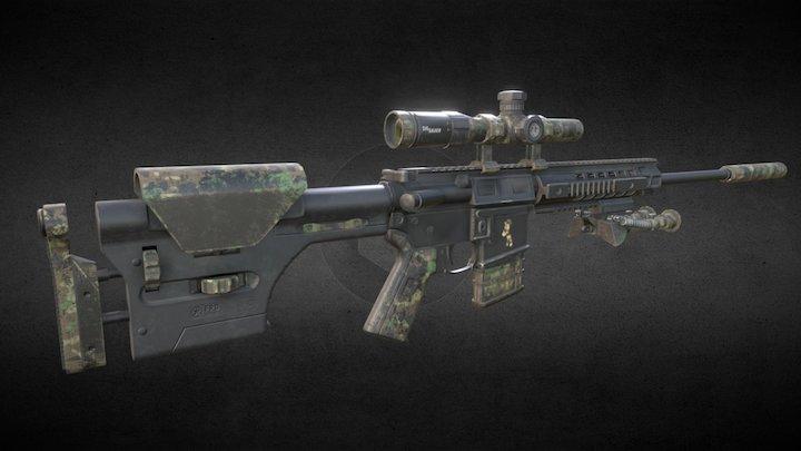 SIG 516 ver2 3D Model