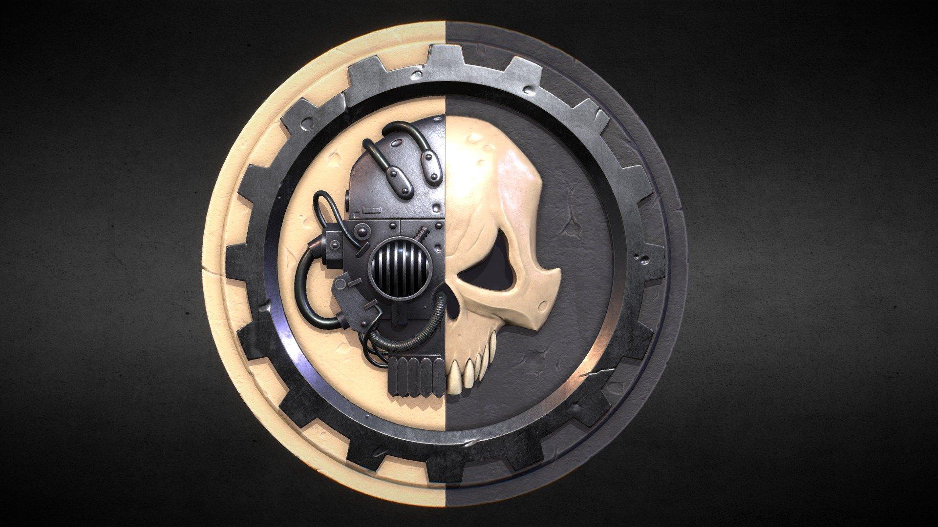 Adeptus Mechanicus Symbol Download Free 3d Model By Drbanana