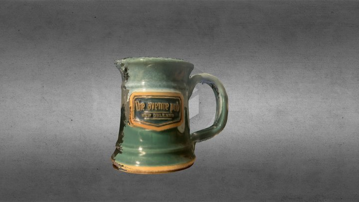 Avenue Pub Mug Take 2 3D Model