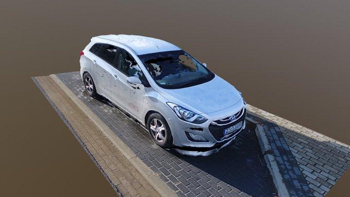 Hyundai i30 3D Model