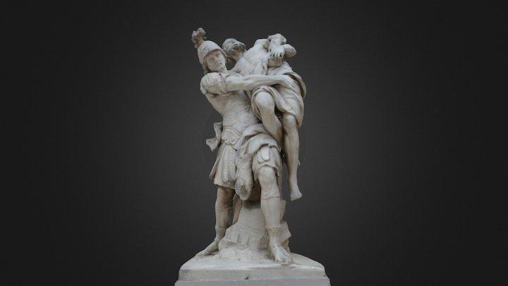 Enée et Anchise - Louvre Museum 3D Model