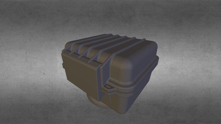 PT-39 Case à Prova D'água 3D Model