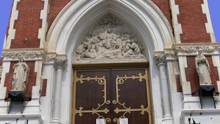 Church Entrance 3D Model
