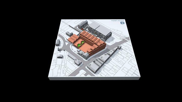 Light Analysis Model 3D Model