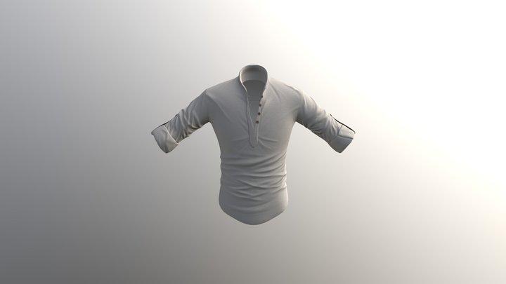 Linen Shirt 3D Model
