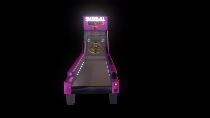 Skee Ball Game 3D Model