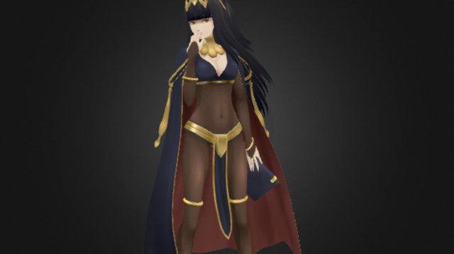 Sallya 3D Model