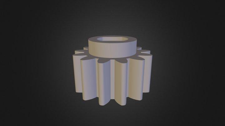 Tree Base Gear 3D Model