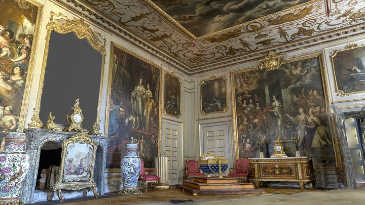 Ehrenstrahl Drawing Room, Drottningholm 3D Model