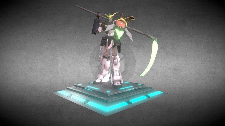XXXG-01D Gundam Deathscythe 3D Model