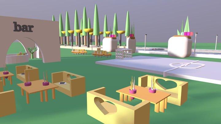 PRJ - Baretto con Campetto 3D Model