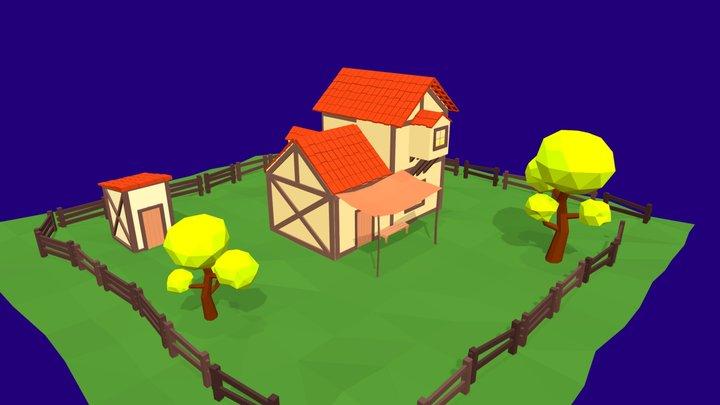 House Medieval 3D Model