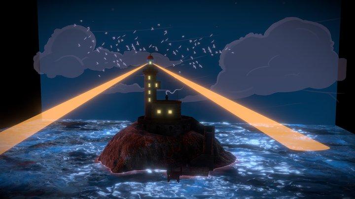 Phare / Lighthouse 3D Model