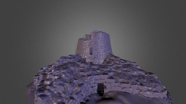 Nuraghe Oes - Sardinia  3D Model