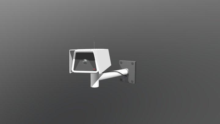 Surveillance camera + animation 3D Model
