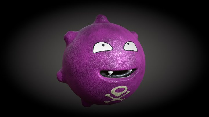 FREE HQ POKEMON KOFFING - Downloadable 3D Model