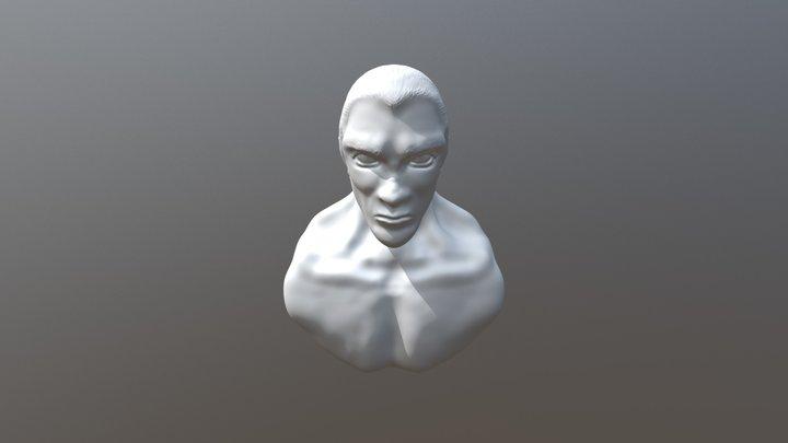 Gideon Bust 3D Model