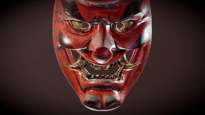 Tengu Mask 3D Model