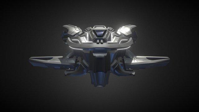 Ship_02_WIP 3D Model