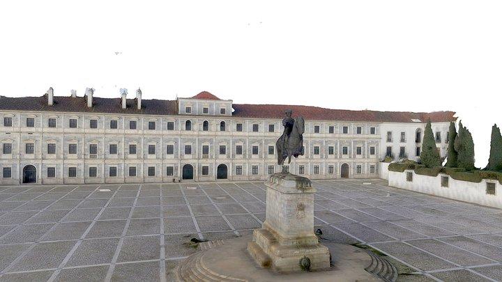 Praça de Vila Viçosa 3D Model