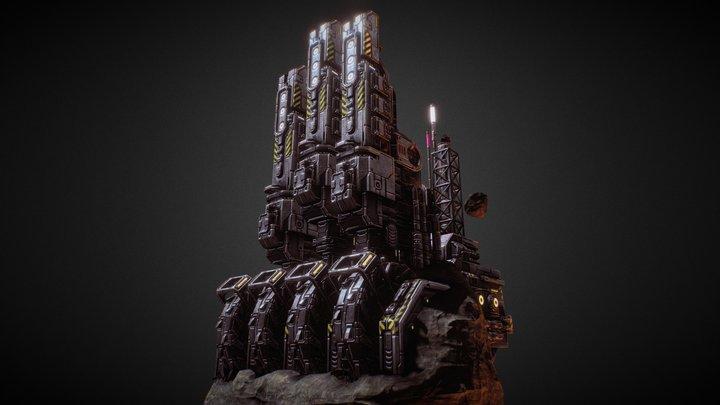 Starfall Tactics — MWU Mothership 3D Model