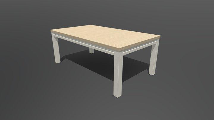 WoodenTable5 3D Model