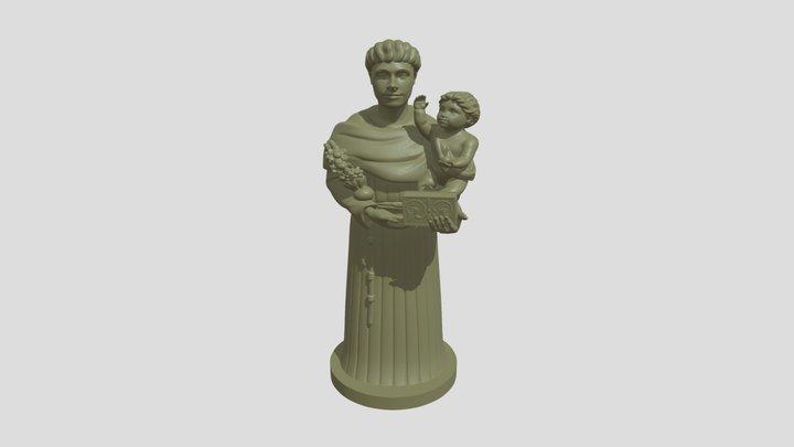 Sant'Antonio da Padova - Soleto 3D Model