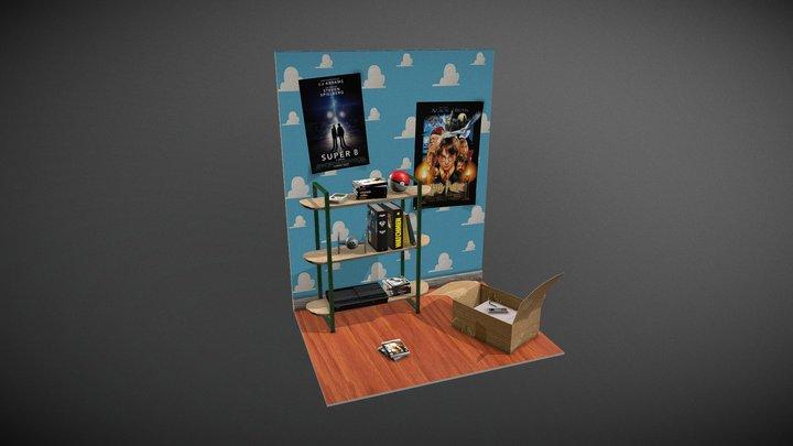 Small Scene 3D Model