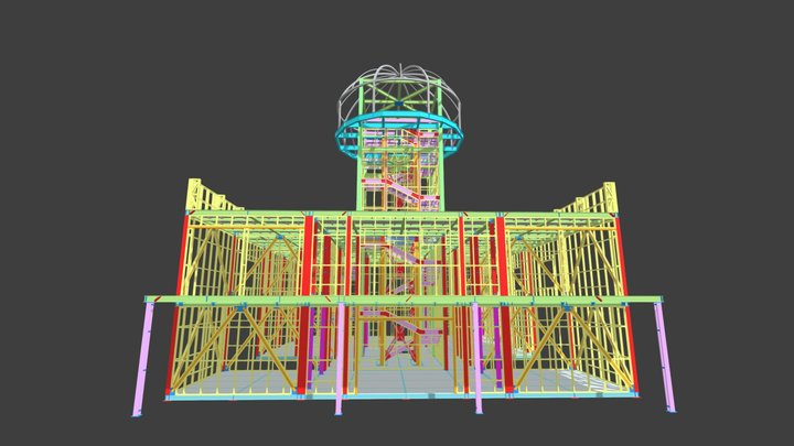 Danish Business Pavilion - EXPO 2020 Dubai 3D Model
