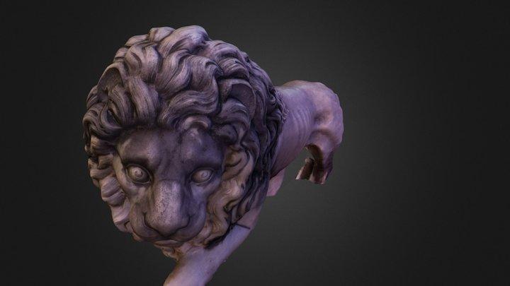 Lion - Peles Castle 3D Model
