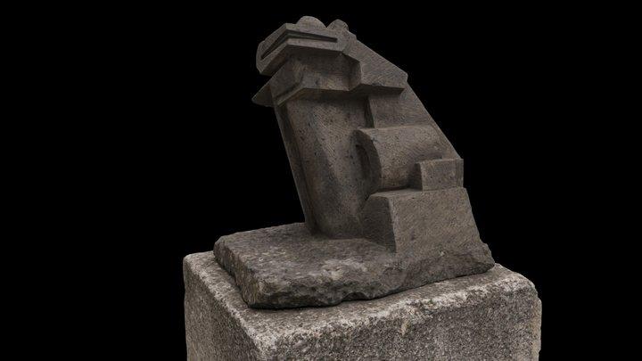 Guanajuato Frog 1 3D Model