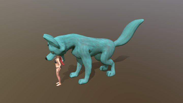 animation 2 3D Model