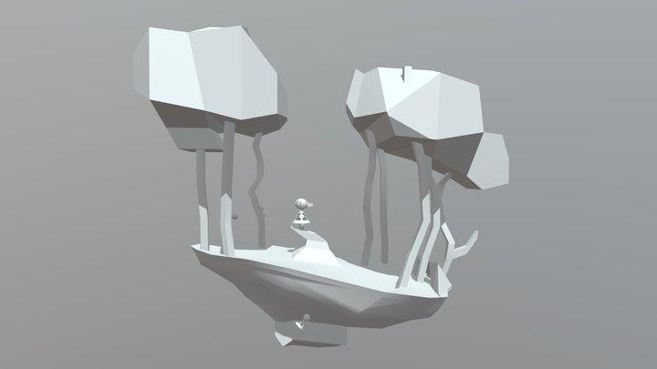 Greybox - Monstergarden 3D Model