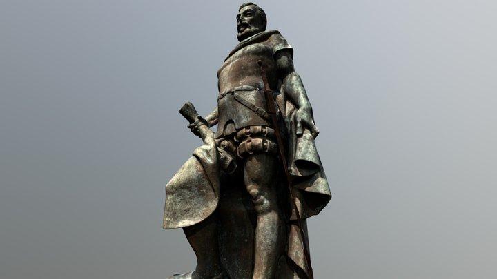 Monumento Francisco Hernández de Córdoba 3D Model