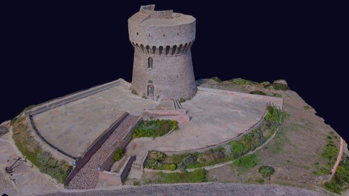 Torre Del Porto - Capraia 3D Model