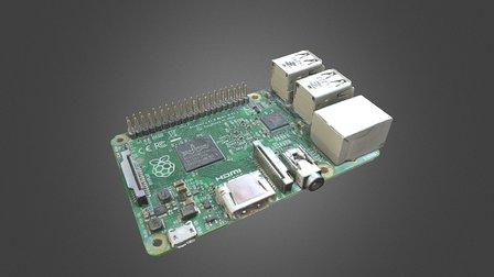 Scanned Raspberry Pi 3D Model