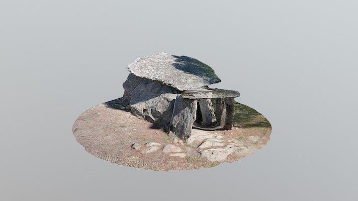 Dolmen Creu d'en Cobertella - Roses 3D Model