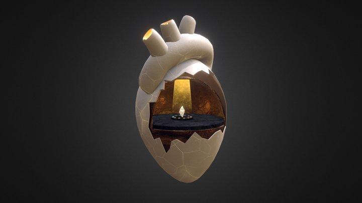 Momo's Heart 3D Model