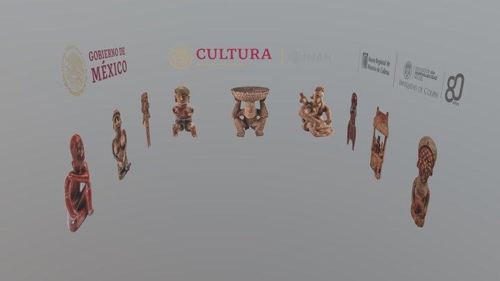 Galería de Piezas Arqueológicas INAH 3D Model